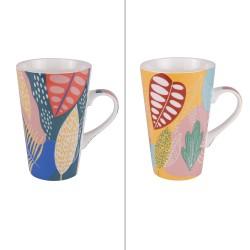 Coffret 2 mugs bogota 46 cl