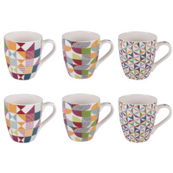 Coffret 6 tasses brazilia...