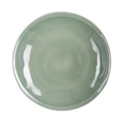 Assiette plate hawai vert...