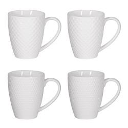 Coffret de 4 mugs snow 35 cl