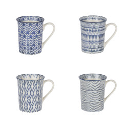 Coffret de 4 mugs cyclades...
