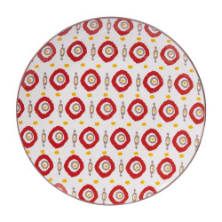 Assiette plate apache 27 cm...