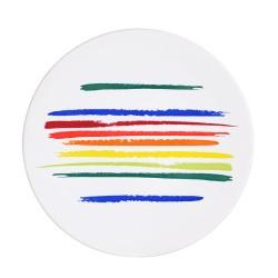 Assiette plate ruban 27.5...