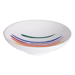 Assiette creuse ruban 19 cm...