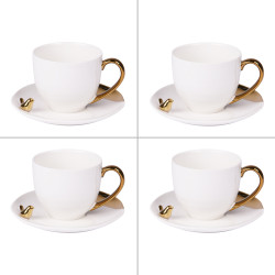 Coffret de 4 tasses à café...