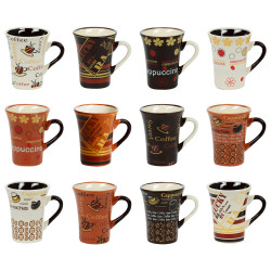 Coffret 12 tasses cafe 8 cl...