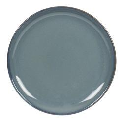 Assiette plate cilaos bleu...