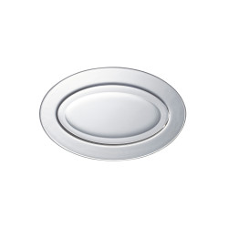 Plat ovale 26 cm lys (lot...