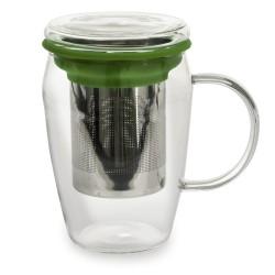 Mug infuseur 43 cl boro vert