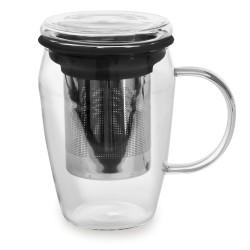 Mug infuseur 43 cl boro noir.
