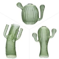 Set 3 vases cactus hauteur...