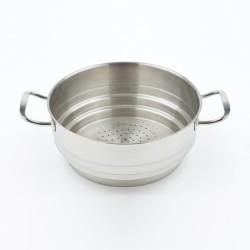 Panier vapeur inox 22 à 26 cm