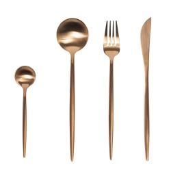 Ménagère 24 pièces diva cuivre