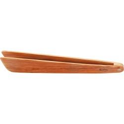 Pince à toast en olivier 25 cm