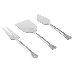 Service de 3 couteaux à...