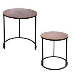 Set de 2 tables d'appoint...