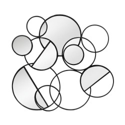 Miroir multi cercles 64 x...