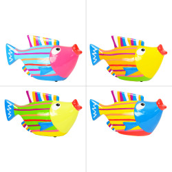 Tirelire poisson 13 cm (1...
