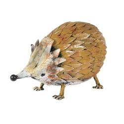 Hérisson brun 33 x 18 cm