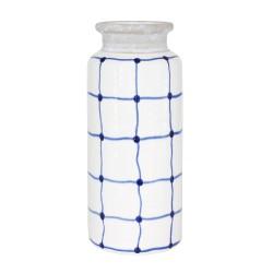 Vase droit 28 cm santorin