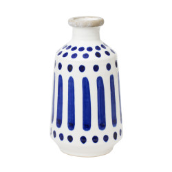 Vase a col 25 cm santorin