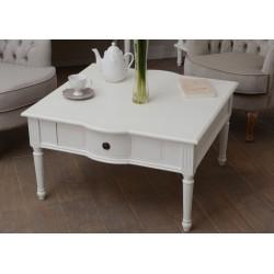 Table basse 1 tiroir blanc...
