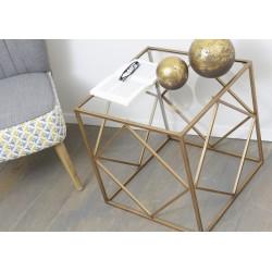 Bout de canapé Carré cubique