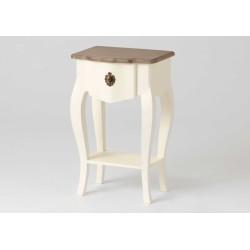 Table de chevet blanche 1...