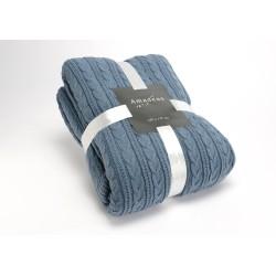 Plaid tricot mouton 130x170...