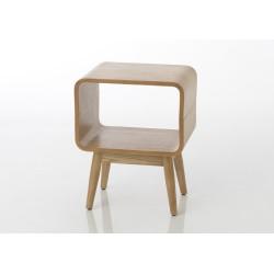 Bout de canapé/chevet Frêne