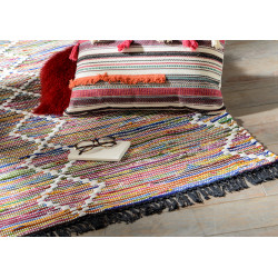 Tapis en coton ibiza 60x90 cm