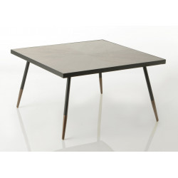 Grande table basse carrée...