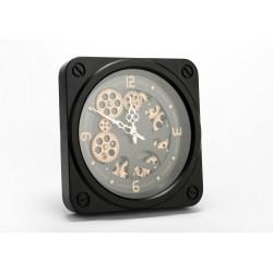 Horloge noire jules 49 cm