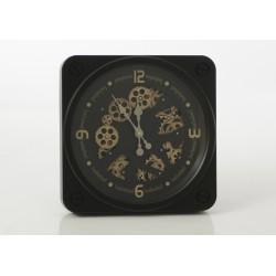 Horloge noire jules 37 cm