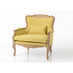 Fauteuil Relax moutarde